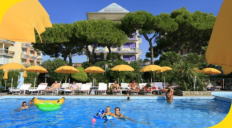 Hotel majestic jesolo hotel jesolo lido hotel fronte mare jesolo - Hotel jesolo con piscina fronte mare ...